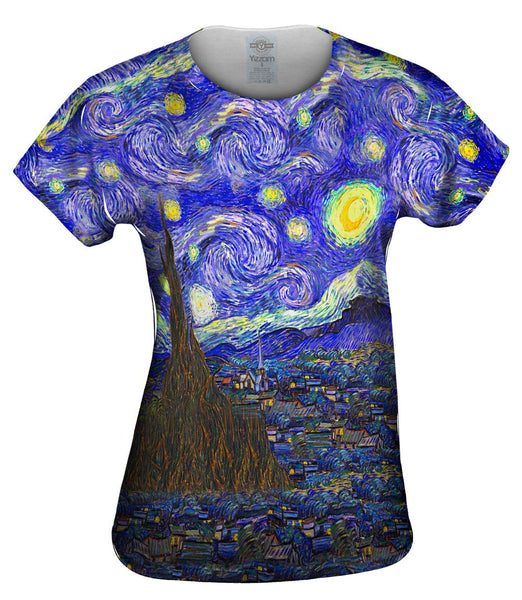"Vincent van Gogh - ""The Starry Night"" Womens Top"