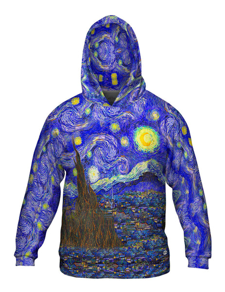 "Vincent van Gogh - ""The Starry Night"" Mens Hoodie Sweater"
