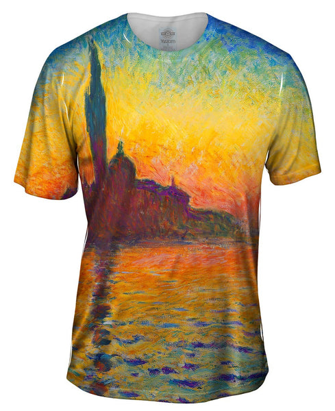 "Claude Monet - ""Venice Twilight"" Mens T-Shirt"