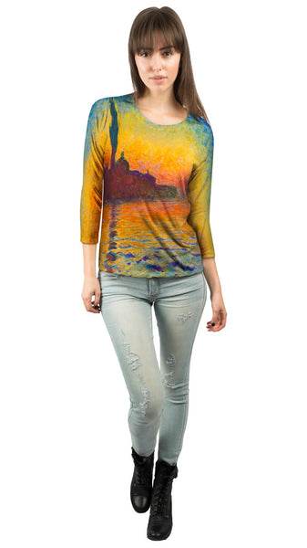 "Claude Monet - ""Venice Twilight"" Womens 3/4 Sleeve"