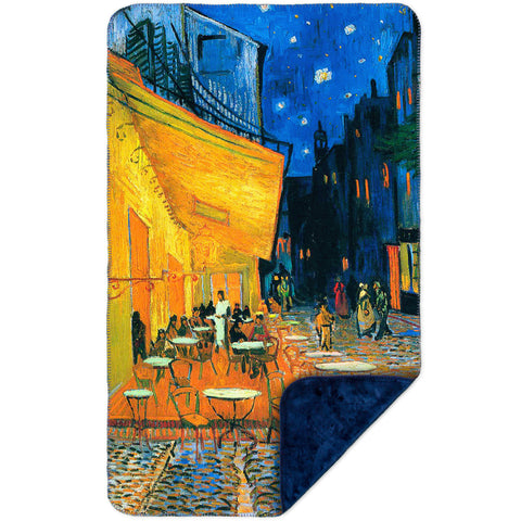 "Vincent van Gogh - ""The Terrace Café On The Place Du Forum In Arles At Night Arles"" (1888)"