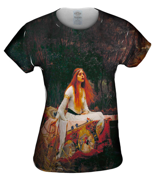 "John William Waterhouse - ""The Lady Of Shalott"" Womens Top"
