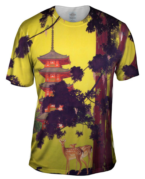 "Hisui Sugiura - ""Japan Tourist Bureau"" (1916) Mens T-Shirt"