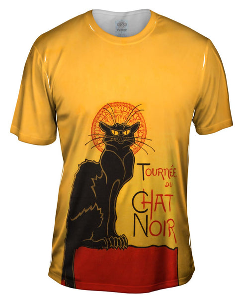 "Steinlein - "" Chat Noir "" (1896) Mens T-Shirt"