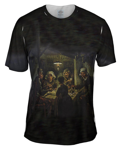 "Van Gogh - ""Potato Eaters"" (1885) Mens T-Shirt"