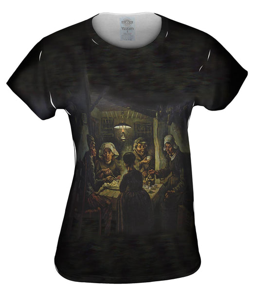 "Van Gogh - ""Potato Eaters"" (1885) Womens Top"