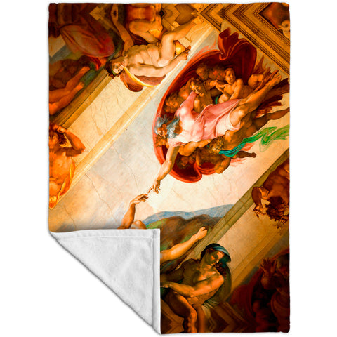 "Michelangelo - ""Creation of Adam"" 001"