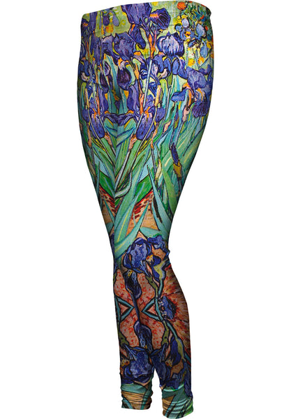 Vincent Van Gogh - Irises (1889) Womens Leggings