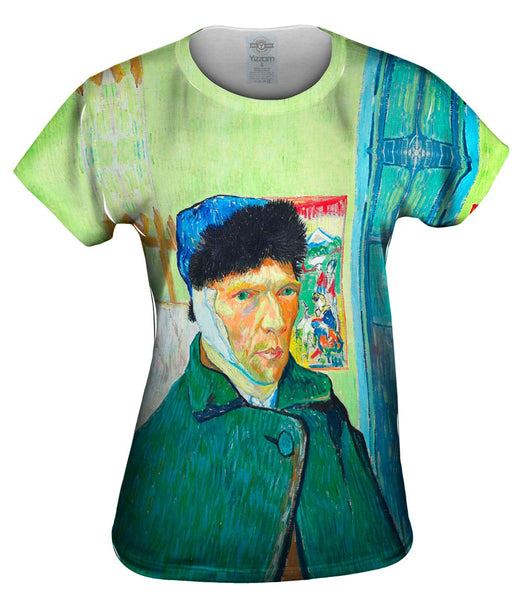 "Vincent Van Gogh - ""Self-portrait with bandaged ear"" (1889) Womens Top"