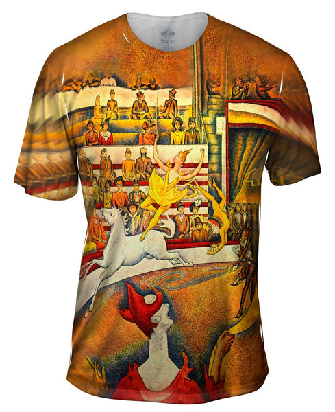 Georges Seurat  - The Circus Musee d Orsay Parisr (1891) Mens T-Shirt