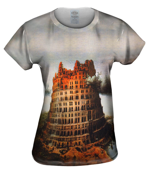 "Bruegel - ""Babel Tower"" (1563) Womens Top"