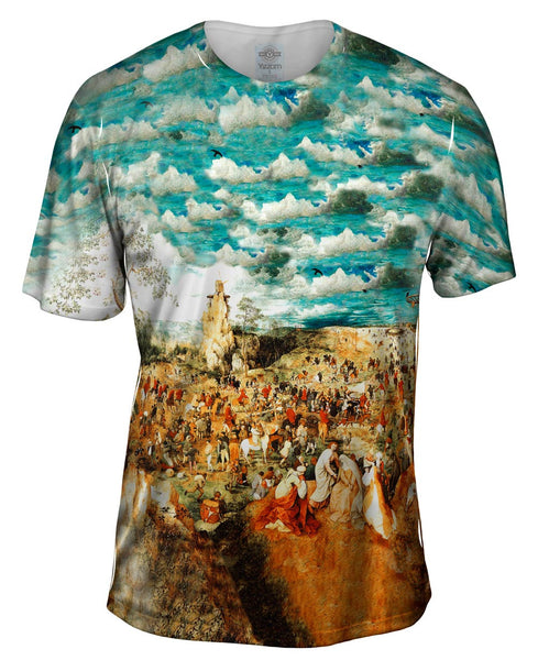 "Bruegel - ""Procession To Calvary"" (1564) Mens T-Shirt"