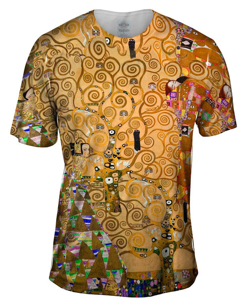 "Gustav Klimt - ""The Tree Of Life"" (1905) Mens T-Shirt"