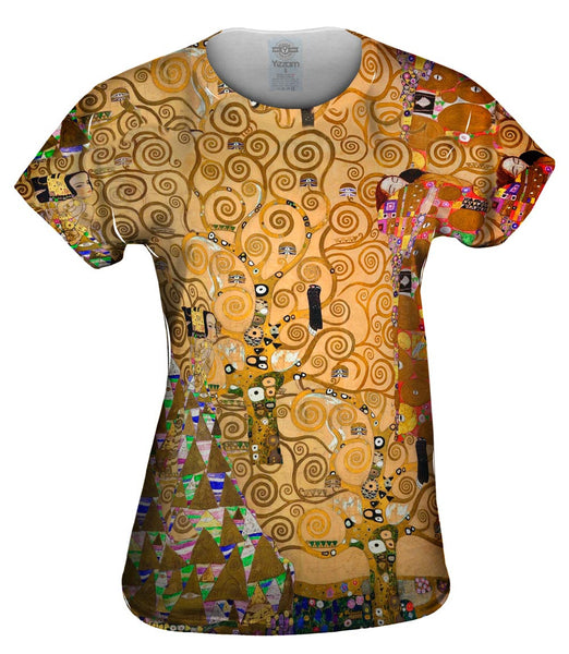 "Gustav Klimt - ""The Tree Of Life"" (1905) Womens Top"