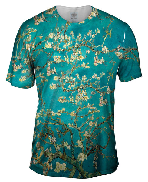 "Van Gogh - ""Blossoming Almond Tree"" (1890) Mens T-Shirt"