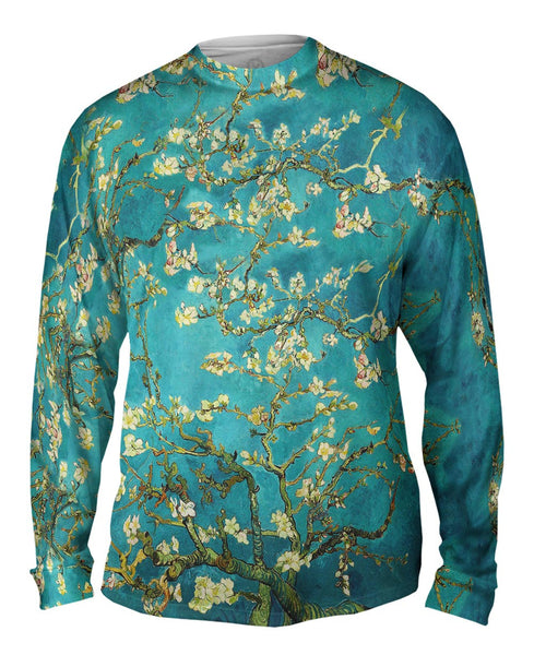 "Van Gogh - ""Blossoming Almond Tree"" (1890) Mens Long Sleeve"