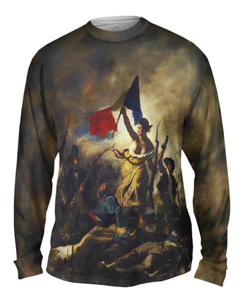 "Eugene Delacroix - ""La Liberte guidant le peuple (Liberty Leading the People)"" Mens Long Sleeve"