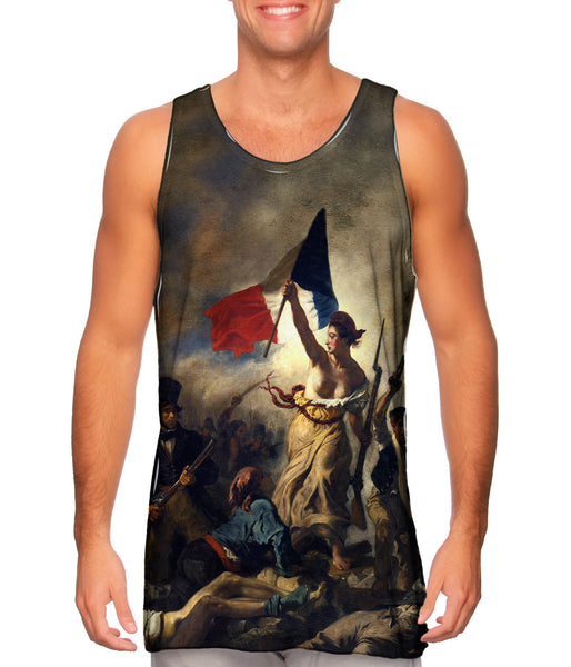 "Eugene Delacroix - ""La Liberte guidant le peuple (Liberty Leading the People)"" Mens Tank Top"