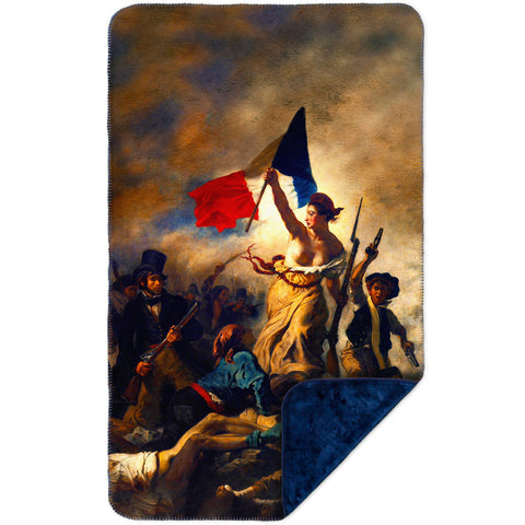 "Eugene Delacroix - ""La Liberte guidant le peuple (Liberty Leading the People)"""