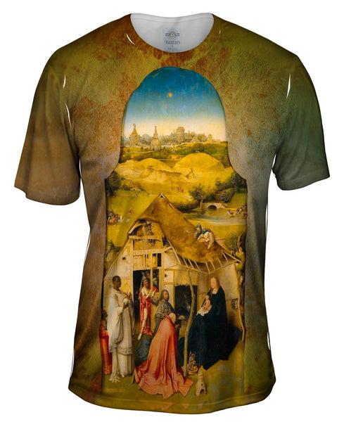 "Hieronymus Bosch - ""The Adoration of the Magi"" (1510) Mens T-Shirt"