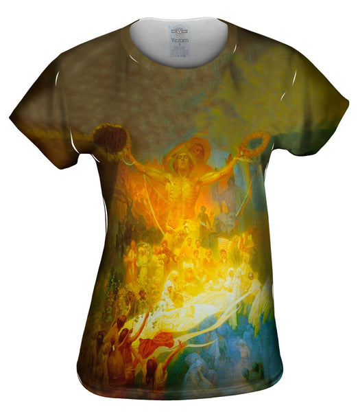 "Mucha - ""The Apotheosis of the Slavs"" Womens Top"