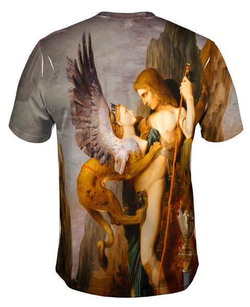 """""""Oedipus And The Sphinx"""" (1864) Mens T"""