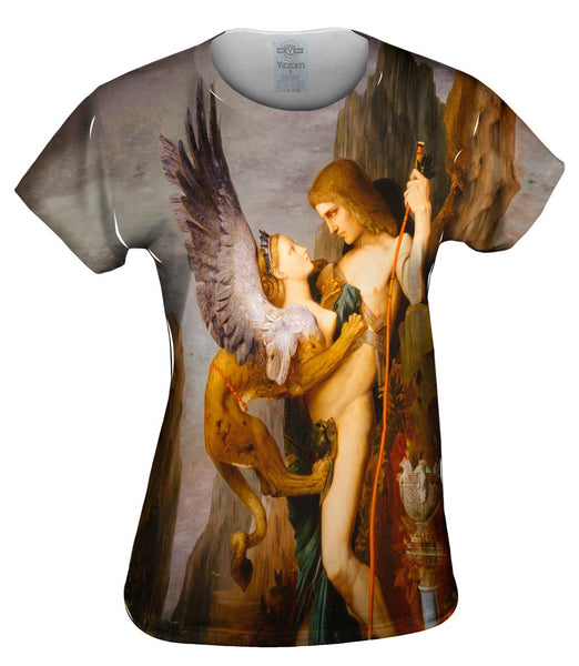 "Gustave Moreau - ""Oedipus and the Sphinx"" (1864) Womens Top"