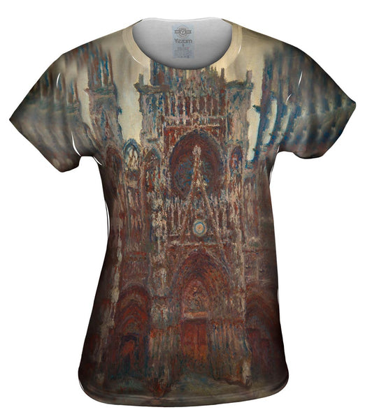 "Monet -""Roun Cathedral Evening"" (1894) Womens Top"