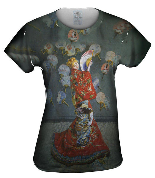 "Monet -""Madame in Japanese Costume"" (1875) Womens Top"