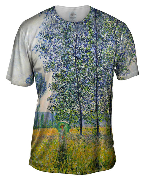 "Monet -""Sunlight Effect"" (1887) Mens T-Shirt"
