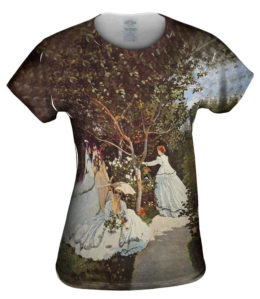 "Monet -""Women in the Garden"" (1886) Womens Top"