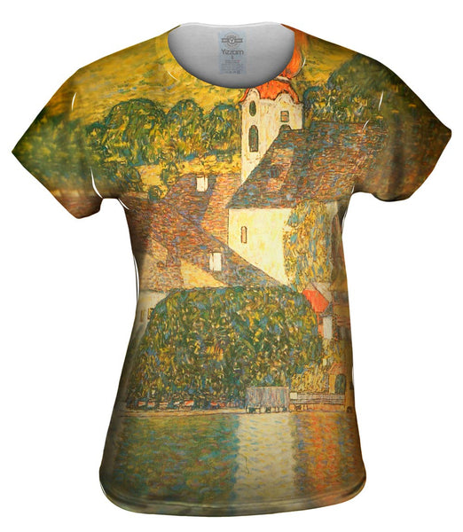 "Gustav Klimt -""Church in Unterach"" (1916) Womens Top"