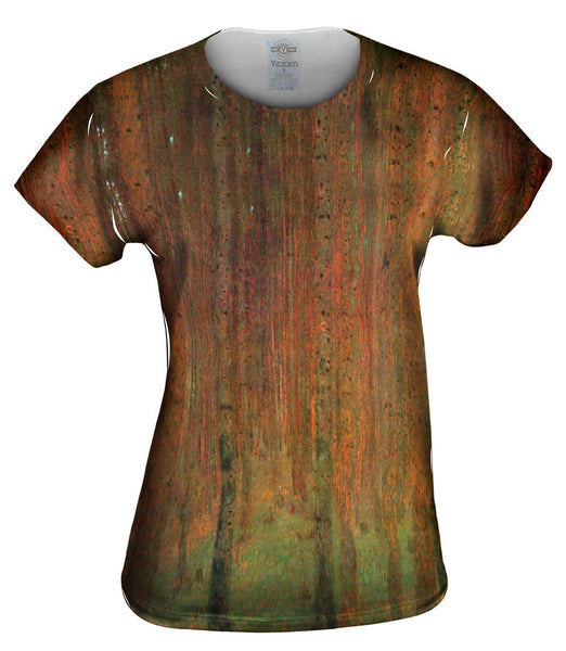 "Gustav Klimt -""Pine Forest II"" (1901) Womens Top"