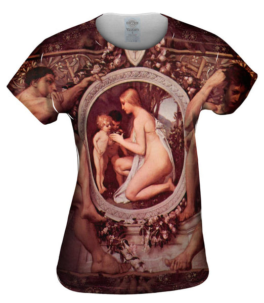 "Gustav Klimt -""Idyll"" (1884) Womens Top"