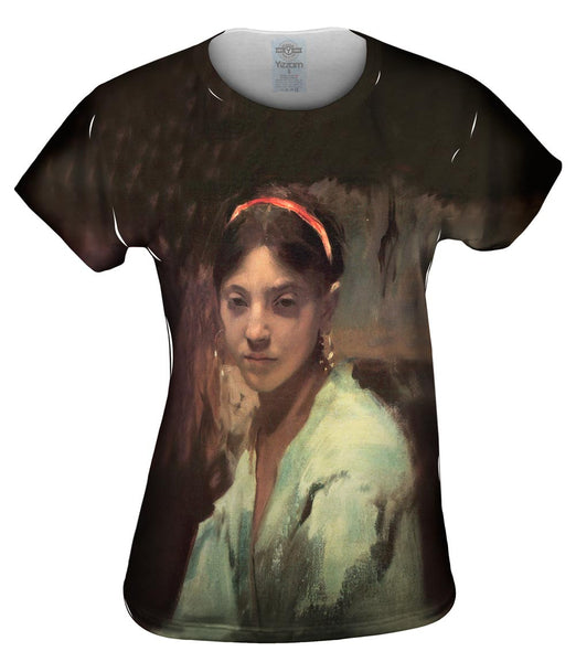 "Sargent -""Capri Girl"" (1878) Womens Top"