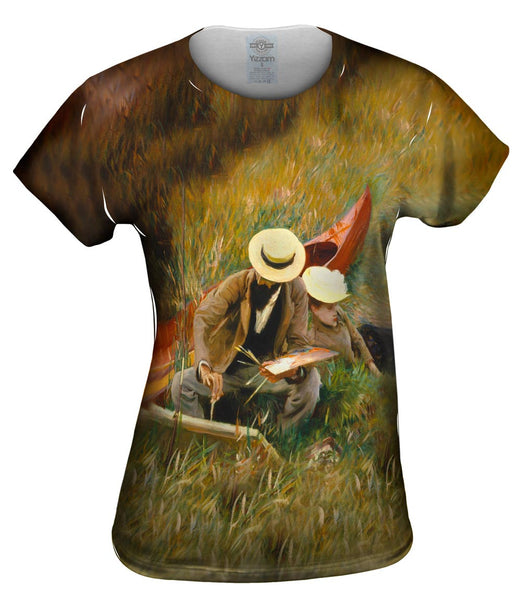 "Sargent -""Outdoors Study"" (1889) Womens Top"