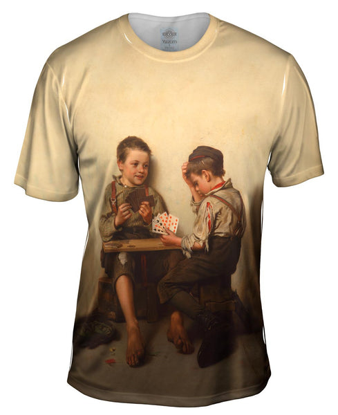 "Brown -""Bluffing"" (1885) Mens T-Shirt"