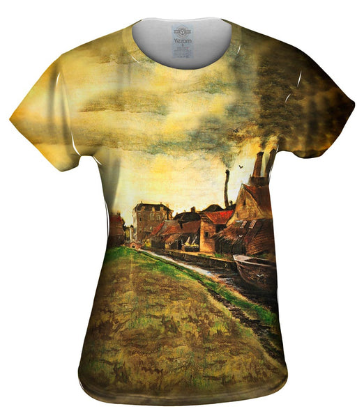 "Van Gogh -""Iron Mill in the Hague"" (1882) Womens Top"
