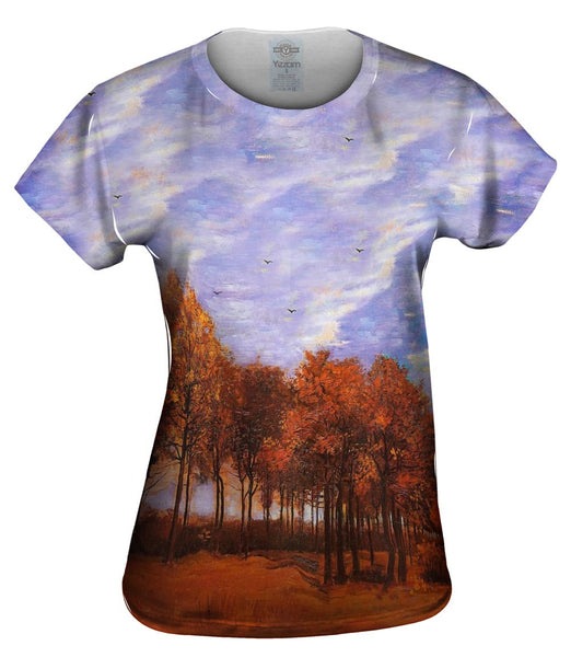 "Van Gogh -""Autumn Landscape"" (1885) Womens Top"