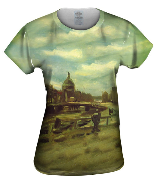 "Van Gogh -""Singel in Amsterdam"" (1885) Womens Top"
