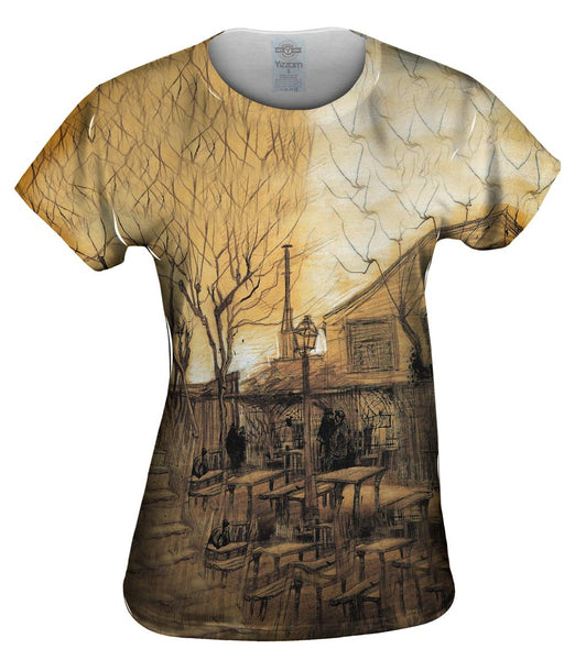 "Van Gogh -""Guinguette"" (1886) Womens Top"