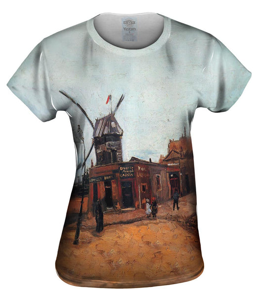 "Van Gogh -""Moulin de Galette"" (1886) Womens Top"