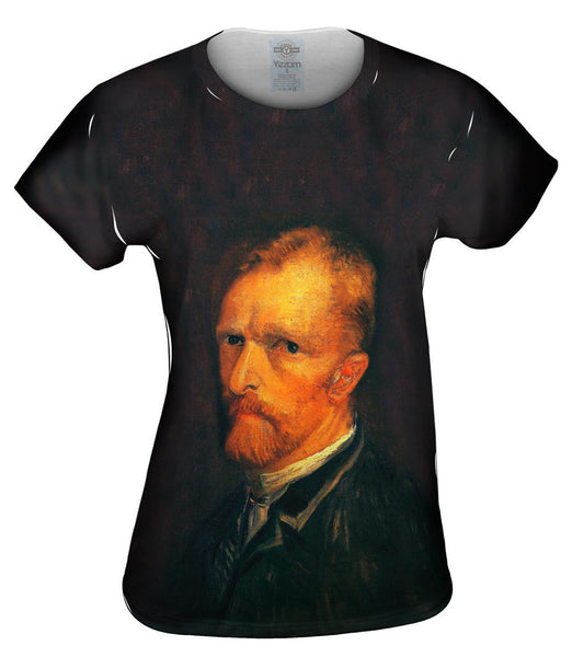 "Van Gogh -""Self-Portrait"" (1886) Womens Top"