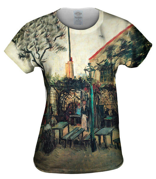"Van Gogh -""Terrace of La Guinguette"" (1886) Womens Top"