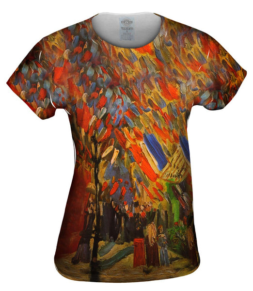 "Van Gogh -""Celebration in Paris"" (1886) Womens Top"