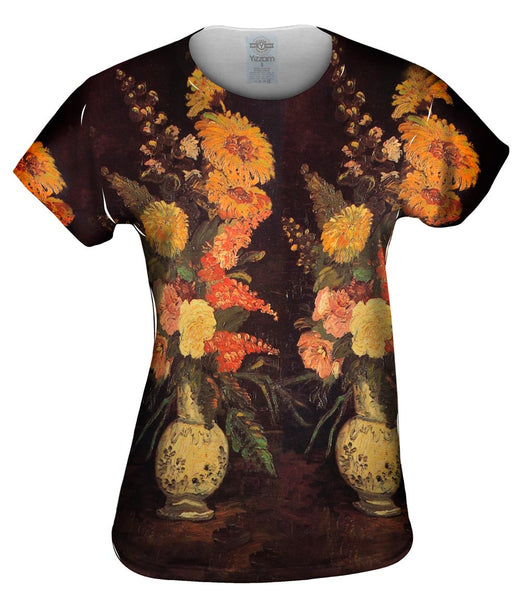 "Van Gogh -""Vase with Asters"" (1886) Womens Top"