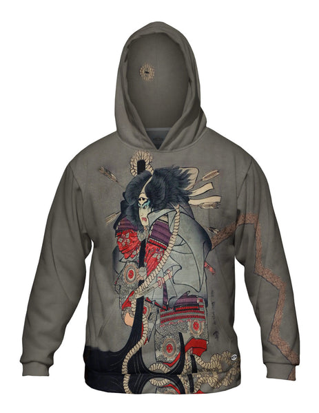 "Japan - Ichiyusai Kuniyoshi -""Battle of Dannoura"" (1845) Mens Hoodie Sweater"
