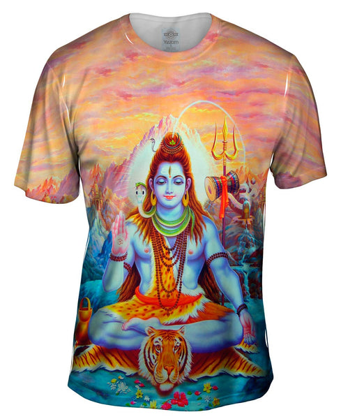 "India - ""The Great Shiva"" Mens T-Shirt"