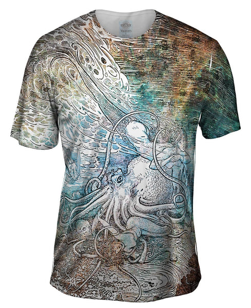 "Louis Rhead - ""Mermaid Octopus"" Mens T-Shirt"