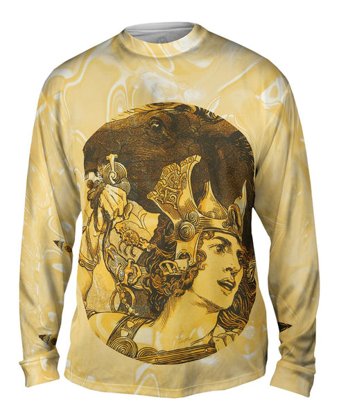 """Hero And Horse"" Mens Long Sleeve"